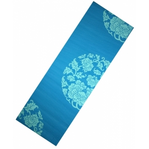 PVC YOGA MAT WITH PRINT 173x61x0,6 см